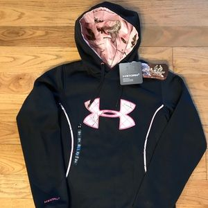 New adult small Under Armour Storm RealTree hoodie